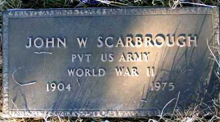 SCARBROUGH, JOHN W - Apache County, Arizona | JOHN W SCARBROUGH - Arizona Gravestone Photos
