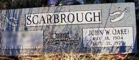 SCARBROUGH, JOHN W. (JAKE) - Apache County, Arizona | JOHN W. (JAKE) SCARBROUGH - Arizona Gravestone Photos