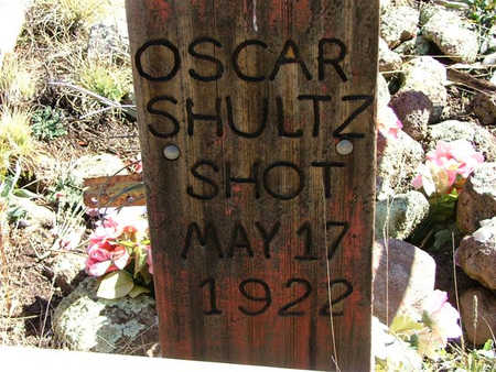 SHULTZ, OSCAR - Apache County, Arizona   OSCAR SHULTZ - Arizona Gravestone Photos