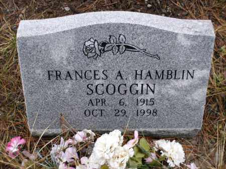 SCOGGIN, FRANCES A. - Apache County, Arizona | FRANCES A. SCOGGIN - Arizona Gravestone Photos