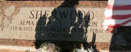 SHERWOOD, ALMA - Apache County, Arizona | ALMA SHERWOOD - Arizona Gravestone Photos