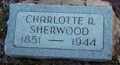 SHERWOOD, CHARLOTTE R. - Apache County, Arizona | CHARLOTTE R. SHERWOOD - Arizona Gravestone Photos