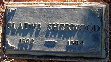 SHERWOOD, GLADYS - Apache County, Arizona | GLADYS SHERWOOD - Arizona Gravestone Photos