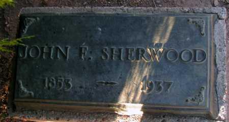 SHERWOOD, JOHN F. - Apache County, Arizona | JOHN F. SHERWOOD - Arizona Gravestone Photos