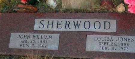 JONES SHERWOOD, LOUISA - Apache County, Arizona | LOUISA JONES SHERWOOD - Arizona Gravestone Photos