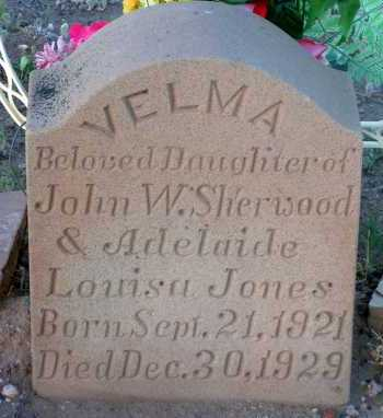 SHERWOOD, VELMA - Apache County, Arizona | VELMA SHERWOOD - Arizona Gravestone Photos