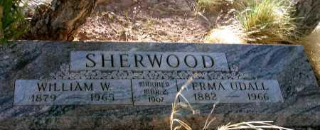 UDALL SHERWOOD, ERMA - Apache County, Arizona | ERMA UDALL SHERWOOD - Arizona Gravestone Photos