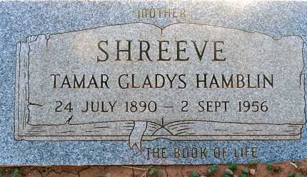 SHREEVE, TAMAR GLADYS - Apache County, Arizona | TAMAR GLADYS SHREEVE - Arizona Gravestone Photos