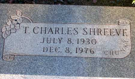 SHREEVE, T. CHARLES - Apache County, Arizona | T. CHARLES SHREEVE - Arizona Gravestone Photos