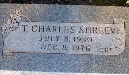 SHREEVE, T. CHARLES - Apache County, Arizona | T. CHARLES SHREEVE - Arizona Gravestone Photos