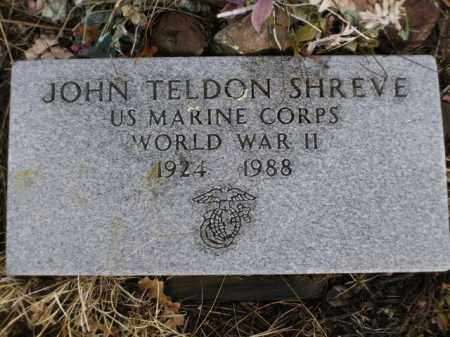 SHREVE, JOHN TELDON - Apache County, Arizona | JOHN TELDON SHREVE - Arizona Gravestone Photos
