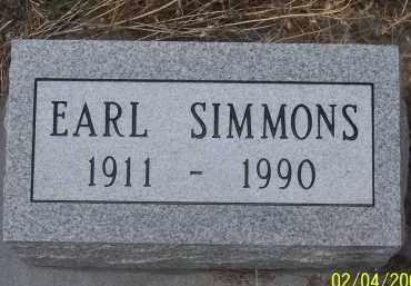 SIMMONS, EARL - Apache County, Arizona | EARL SIMMONS - Arizona Gravestone Photos