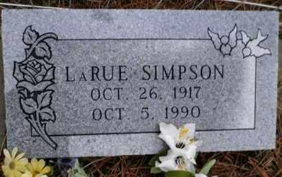SIMPSON, LARUE - Apache County, Arizona | LARUE SIMPSON - Arizona Gravestone Photos