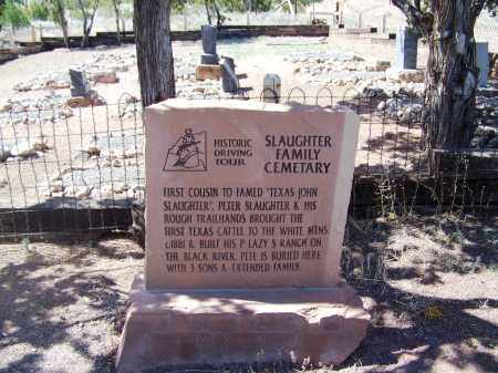 *SLAUGHTER FAMILY, CEMETERY - Apache County, Arizona | CEMETERY *SLAUGHTER FAMILY - Arizona Gravestone Photos