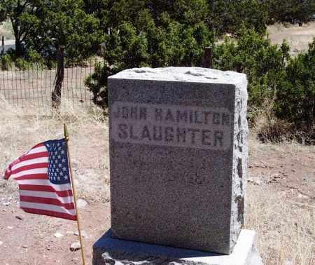 SLAUGHTER, JOHN HAMILTON - Apache County, Arizona   JOHN HAMILTON SLAUGHTER - Arizona Gravestone Photos