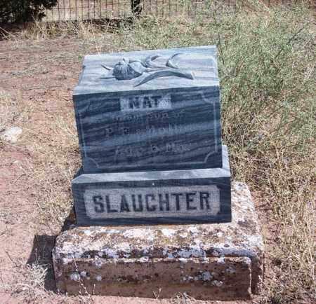 SLAUGHTER, NAT - Apache County, Arizona | NAT SLAUGHTER - Arizona Gravestone Photos