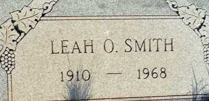 SMITH, LEAH O. - Apache County, Arizona | LEAH O. SMITH - Arizona Gravestone Photos