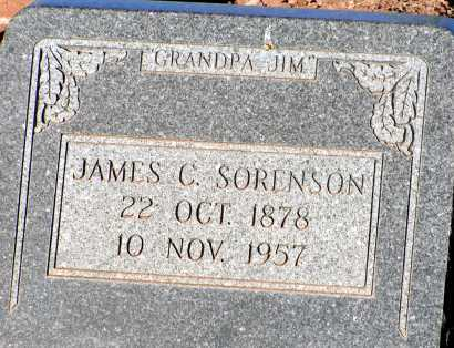 SORENSON, JAMES C. - Apache County, Arizona | JAMES C. SORENSON - Arizona Gravestone Photos