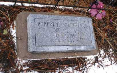 SPENCE, ROBERT F. - Apache County, Arizona | ROBERT F. SPENCE - Arizona Gravestone Photos