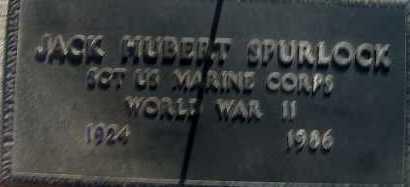 SPURLOCK, JACK HUBERT - Apache County, Arizona   JACK HUBERT SPURLOCK - Arizona Gravestone Photos