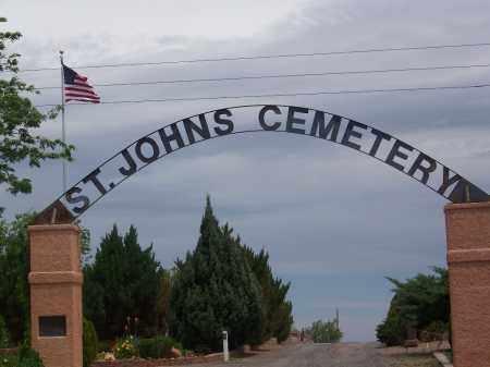 *ST JOHNS, CEMETERY GATE - Apache County, Arizona | CEMETERY GATE *ST JOHNS - Arizona Gravestone Photos