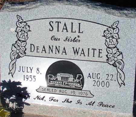 WAITE STALL, DEANNA - Apache County, Arizona | DEANNA WAITE STALL - Arizona Gravestone Photos