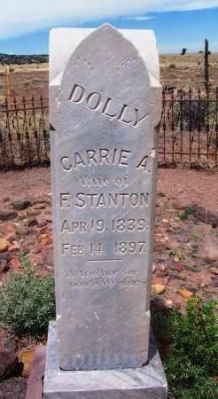 STANTON, CARRIE A - Apache County, Arizona   CARRIE A STANTON - Arizona Gravestone Photos