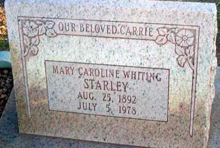 WHITING STARLEY, MARY CAROLINE - Apache County, Arizona | MARY CAROLINE WHITING STARLEY - Arizona Gravestone Photos