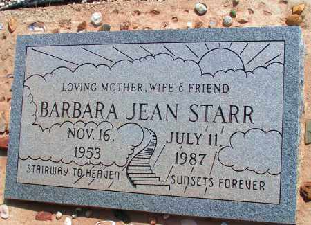 STARR, BARBARA JEAN - Apache County, Arizona | BARBARA JEAN STARR - Arizona Gravestone Photos