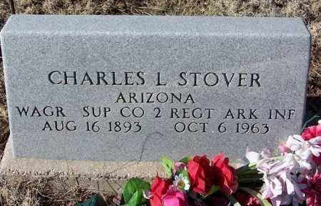 STOVER, CHARLES L - Apache County, Arizona | CHARLES L STOVER - Arizona Gravestone Photos