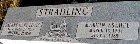 STRADLING, MARVIN ASAHEL - Apache County, Arizona | MARVIN ASAHEL STRADLING - Arizona Gravestone Photos