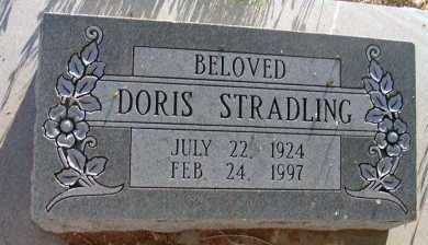 STRADLING, DORIS - Apache County, Arizona | DORIS STRADLING - Arizona Gravestone Photos