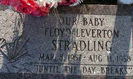 STRADLING, FLOYD LEVERTON - Apache County, Arizona | FLOYD LEVERTON STRADLING - Arizona Gravestone Photos