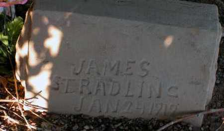 STRADLING, JAMES - Apache County, Arizona | JAMES STRADLING - Arizona Gravestone Photos