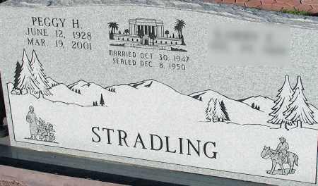 HEAP STRADLING, PEGGY - Apache County, Arizona   PEGGY HEAP STRADLING - Arizona Gravestone Photos