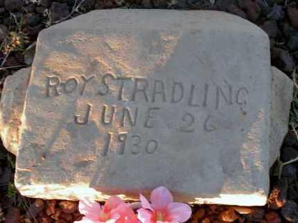 STRADLING, ROY - Apache County, Arizona | ROY STRADLING - Arizona Gravestone Photos