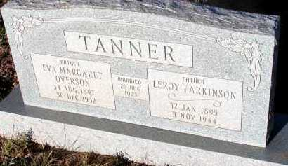 TANNER, LEROY PARKINSON - Apache County, Arizona | LEROY PARKINSON TANNER - Arizona Gravestone Photos