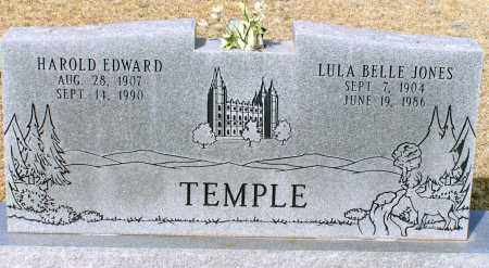 TEMPLE, HAROLD EDWARD - Apache County, Arizona | HAROLD EDWARD TEMPLE - Arizona Gravestone Photos