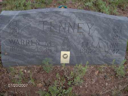TENNEY, WARREN M. - Apache County, Arizona   WARREN M. TENNEY - Arizona Gravestone Photos