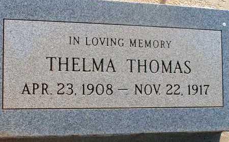 THOMAS, THELMA - Apache County, Arizona | THELMA THOMAS - Arizona Gravestone Photos
