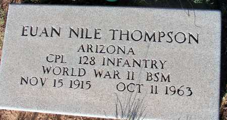 THOMPSON, EUAN NILE - Apache County, Arizona | EUAN NILE THOMPSON - Arizona Gravestone Photos