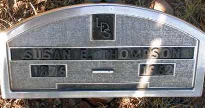 THOMPSON, SUSAN E. - Apache County, Arizona | SUSAN E. THOMPSON - Arizona Gravestone Photos