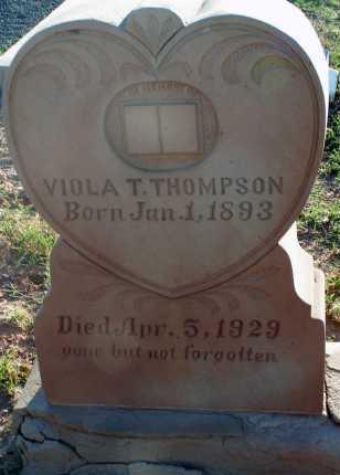 THOMPSON, VIOLA T. - Apache County, Arizona   VIOLA T. THOMPSON - Arizona Gravestone Photos