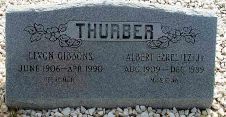 GIBBONS THURBER, LEVON - Apache County, Arizona | LEVON GIBBONS THURBER - Arizona Gravestone Photos