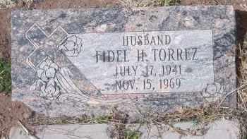 A TORREZ, FIDEL H. - Apache County, Arizona | FIDEL H. A TORREZ - Arizona Gravestone Photos