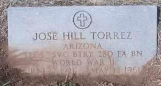 TORREZ, JOSE HILL - Apache County, Arizona   JOSE HILL TORREZ - Arizona Gravestone Photos