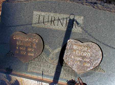 TURNER, BUFORD ALFORD - Apache County, Arizona | BUFORD ALFORD TURNER - Arizona Gravestone Photos