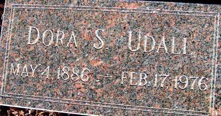 UDALL, DORA S. - Apache County, Arizona | DORA S. UDALL - Arizona Gravestone Photos