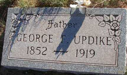 UPDIKE, GEORGE F. - Apache County, Arizona | GEORGE F. UPDIKE - Arizona Gravestone Photos