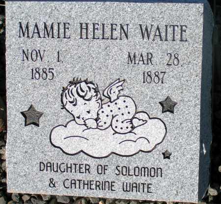 WAITE, MAMIE HELEN - Apache County, Arizona   MAMIE HELEN WAITE - Arizona Gravestone Photos